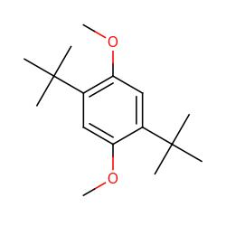 Di tert butyl 2 5 dimethoxybenzene chemical details mol